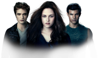 Robert Pattison, Kristen Stewart  and Taylor Lautner