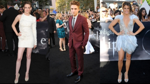 Rob & Kristen Hang Tight! And Other Eclipse Cast Premiere Rituals