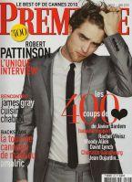 Robert Pattinson in Premiere French Magazine Cover