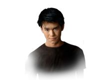 BooBoo Stewart, 16, as Seth Clearwater, another wolfpacker.