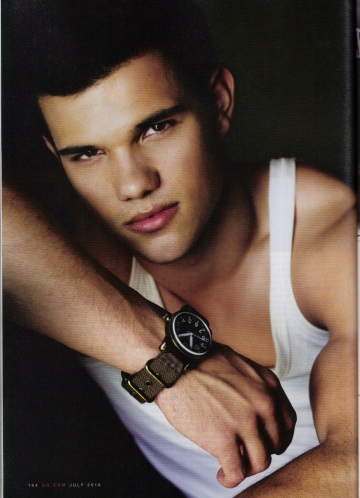 Taylor Lautner is Number One on The Top Ten Celebrities Written Into Fan Fiction