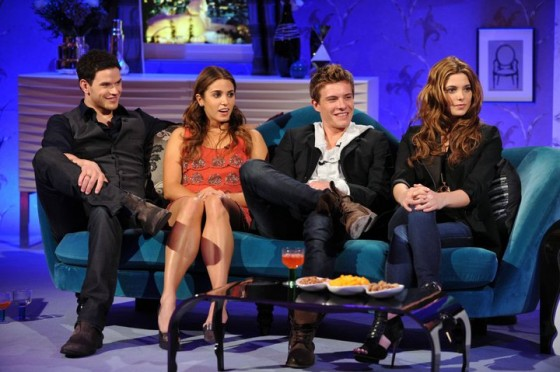 Kellan Lutz, Nikki Reed, Xavier Samuel, & Ashley Greene On Alan Carr!