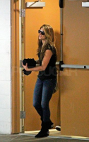 Ashley Green spotted heading out of LAX on June 26th