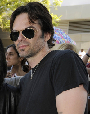 "Billy Burke took a break from shooting ""Drive Angry 3D"" by attending the world premiere of ""The Twilight Saga: Eclipse"" in June."