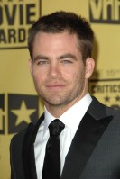 Chris Pine Age: 29 Single? He has been romantically linked to Ryan Seacrest's ex-girlfriend, Jasmine Waltz, although Pine is yet to confirm the rumours himself. See Him Next: In a star-studded sci-fi adventure flick called Quantum Quest: A Cassini Space Odyssey featuring Samuel L Jackson, Christian Slater, John Travolta, William Shatner and Sarah Michelle Gellar.