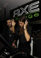 Eclipse movie's Nikki reed spent the 4th of July at the Axe Lounge!
