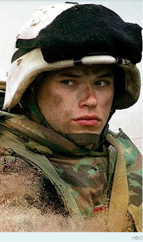 Skars isn't the only vamp with a Generation Kill past. Before you could find Kellan posing in his Calvin's, the actor, and even then BFF to Ashley Greene, landed a part in HBO's show before hitting it big in Twilight with only a couple of lines. See, a six-pack can make you famous!