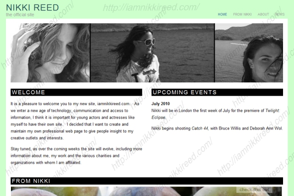 Nikki's Official Website and Blog