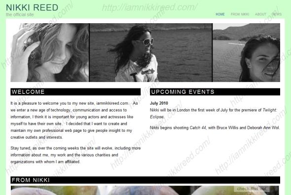 Nikki's Official Website and Blog