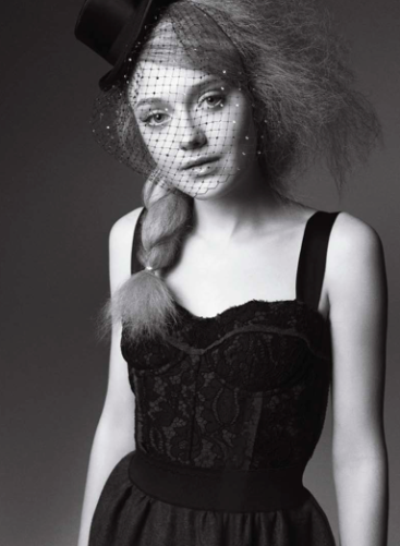 Dakota Fanning's August Marie Claire Cover and Outtakes!