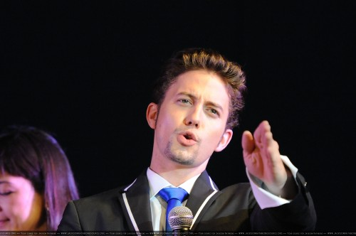 Jackson Rathbone in Tokyo promoting The Last Airbender (July 6th)