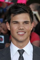 Taylor Lautner Age: 18 Single? Yes – after splitting with namesake Taylor Swift at the end of last year.  See Him Next: The hottest werewolf on the block can be seen baring his claws (and chest, we hope) in the latest Twilight film Eclipse. After that, it's a long, cruel wait until the next episode, Breaking Dawn Part 1, is out in November 2011. How will we cope?