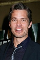 Timothy Olyphant Age:42 Single? The American actor has been married for almost 20 years. He lives with wife Alexis Knief and their three children in Westwood, LA. See Him Next: Looking sizzling hot in comedy Elektra Luxx, which is due for release by the end of the year.