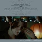 Twilight Stills and Script Notes