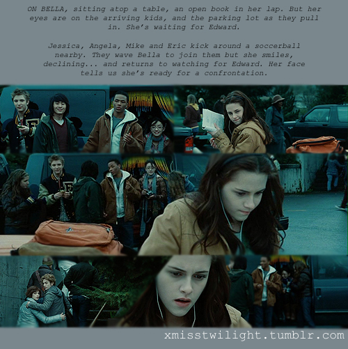 Twilight Stills and Script Notes