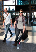 Xavier Samuel spotted heading out of LAX on June 26th